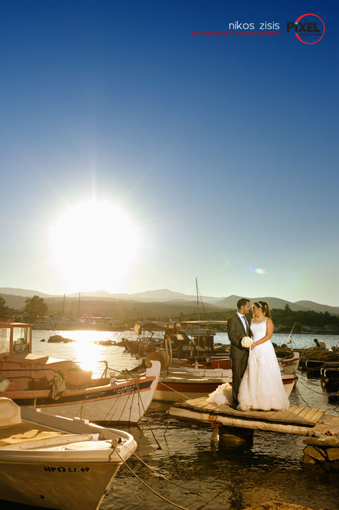 Άγγελος & Λαμπρινή day:two wedding photography Nikos Zisis Karditsa