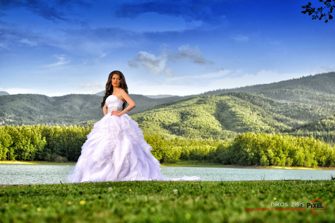Σπύρος & Σταυρούλα:Wedding part two wedding photography Nikos Zisis Karditsa